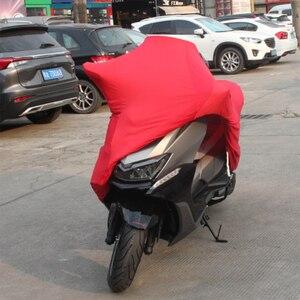 Image 5 - Capa da motocicleta universal ao ar livre protetor uv todas as estações à prova ddustágua bicicleta chuva dustproof scooter do motor capa