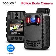 Boblov N9 Full Hd Politie Lichaam Camera 165 Graden Lens Ir Nachtzicht Sd kaart Opslag Mini Camera Professionele Licht body Camera