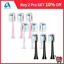 Têtes de brosse de rechange pour Proalpha BH-130 S100 S310 S700 brosse à dents électrique Sonic nettoyage en profondeur têtes de brosse à dents accessoires