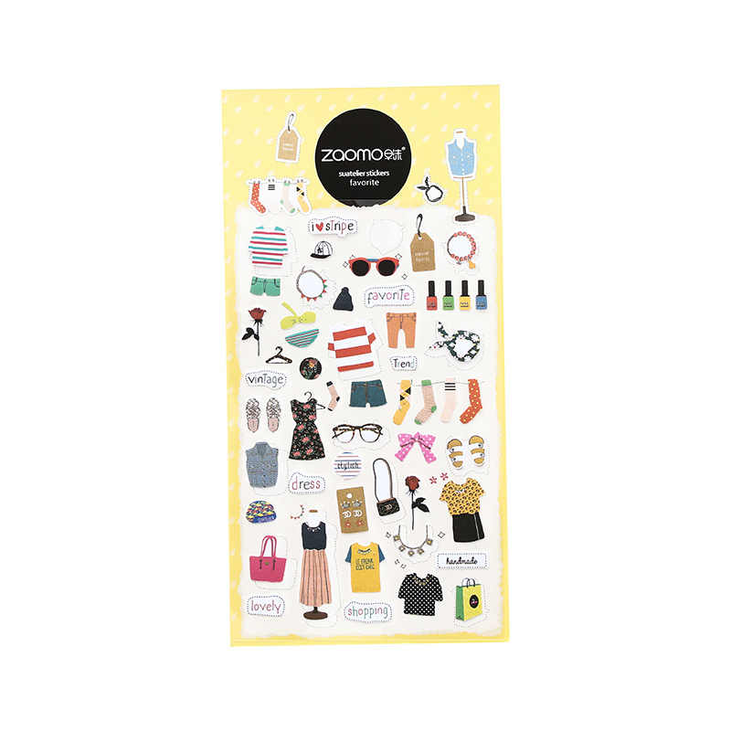 Mohamm لطيف يوميات التقويم الكورية ملصقات الزخرفية سكرابوكينغ اليابانية القرطاسية اللوازم المدرسية