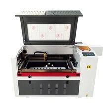 Lazer gravür 600*400mm 80W 220V/110V Co2 lazer gravür kesme makinesi DIY lazer kesici işaretleme makinesi, oyma makinesi