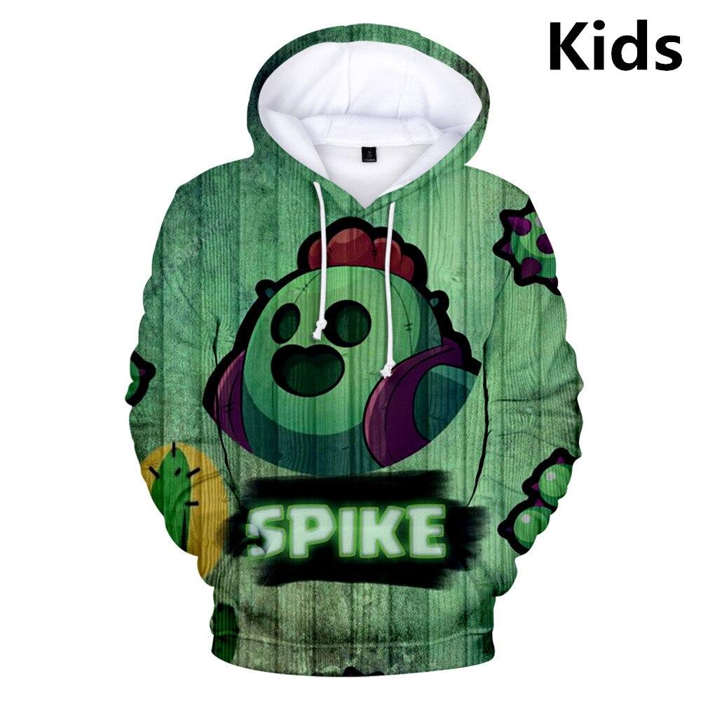2 To 13 Years Kids Hoodie Fashion Harajuku 3D Shooting Game Hoodies Sweatshirt Boys Girls Autumn Winter Teen Jacket Clothes