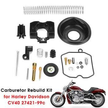 Gaźnika ZESTAW DO NAPRAWIANIA dla Harley Davidson CV40 27421-99C CV Carb zestaw do odbudowy tanie i dobre opinie Autoleader other metal 0 05g