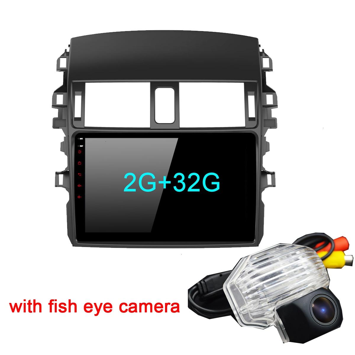 Android 9,0 Auto Radio Multimedia-Player Für Toyota Corolla E140/150 2008 2009 2010 2011 2012 2013 Stereo GPS navigation 2 din PC