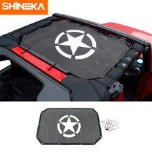 Shineka крышка автомобиля Топ сетка Солнцезащитная крыша УФ