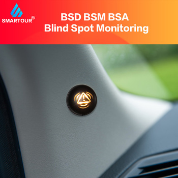 Smartour Car BSD BSA BSM Blind Spot Detection Driving Warning Safety Radar Alert Mirror Reversing Parking Driving radar system car reversing radar 12v with 4 parking sensor ultrasonic radar detection standby radar monitoring system reversing accessories