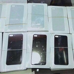Image 4 - Piezas de Repuesto de cristal para iPhone 8 8plus, cubierta de batería, carcasa de puerta trasera para iphone X, 10 unids/lote