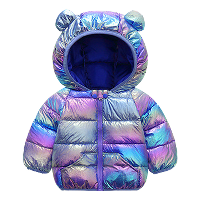 Thickened Padded Baby Jacket with Hood 6