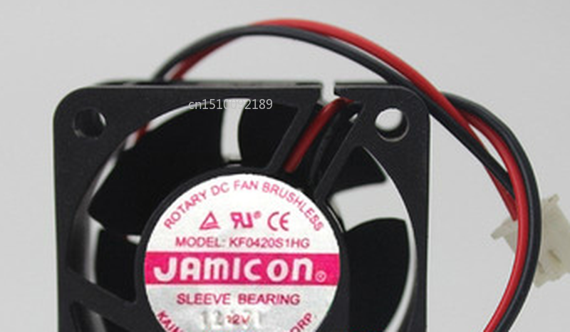 Free Shipping Original For JAMICON MODEL KF0420S1HG 12V 4020 40 * 40 * 20MM Power Supply Fan CPU Cooling Fan