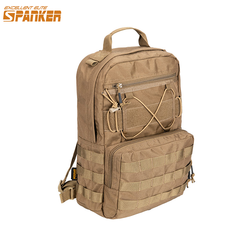 EXCELLENT ELITE SPANKER Outdoor Military Portable Hydration Backpack Hunting Camping Molle Vest  Magazine For Hiking Bag