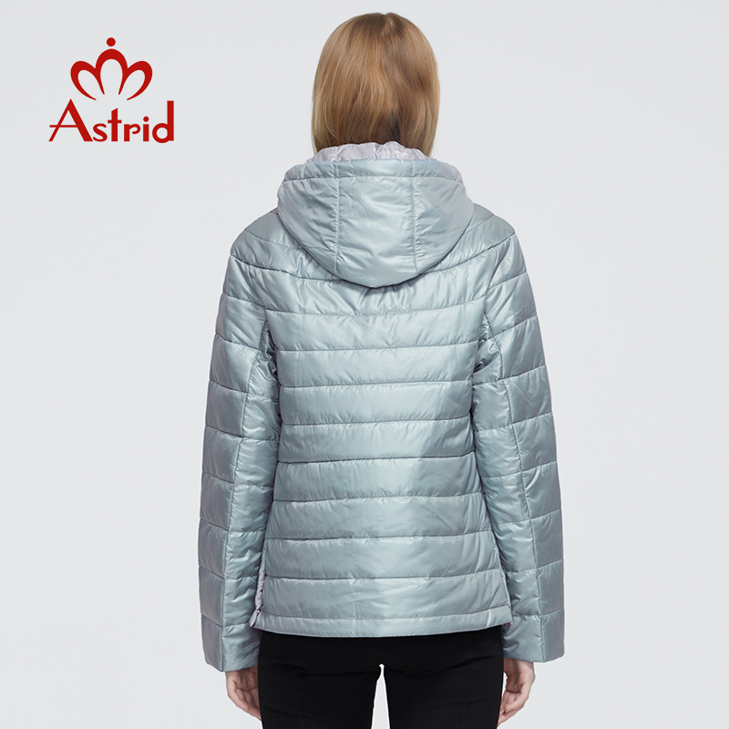 Astrid 2020 New Autumn Winter Women's coat women Windproof warm parka fashion thin Jacket hooded female clothing New Design 9299