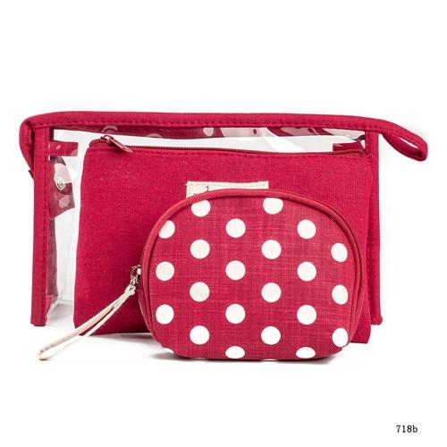 Miyahouse Cosmetic Bags Fashion Storage Organizer BagsPortable Make Up Bag Women PVC Pouch Travel Toiletry Bag Cute Women Bags