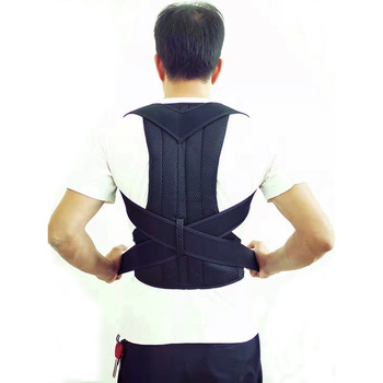Adjustable Posture Corrector Back Spine Support Shoulder Lumbar Brace Support Corset Adult Humpback Pain Back Belt Dropshipping women back brace support posture corrector corset lumbar support belt upper back posture correction magnetic therapy pain relief