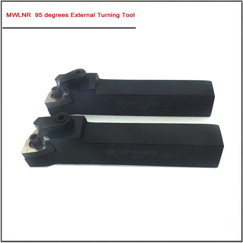 Купить с кэшбэком MWLNR1616H08 MWLNL2020K08 2525M08 95 degrees External Turning Tool  Metal Lathe Cutting Tools,CNC Tool Cylindrical turning tool