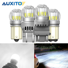 2x 2000LM T15 W16W LED Canbus หลอดไฟ WY21W P21W BAY15D P27/7W 3030SMD 12V ไฟ LED ย้อนกลับสำหรับ Toyota Camry Corolla Prius