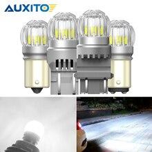 2x 2000LM T15 W16W LED Canbus bombillas WY21W P21W BAY15D P27/7W 3030SMD 12V LED luces de marcha atrás para Toyota Camry Corolla Prius
