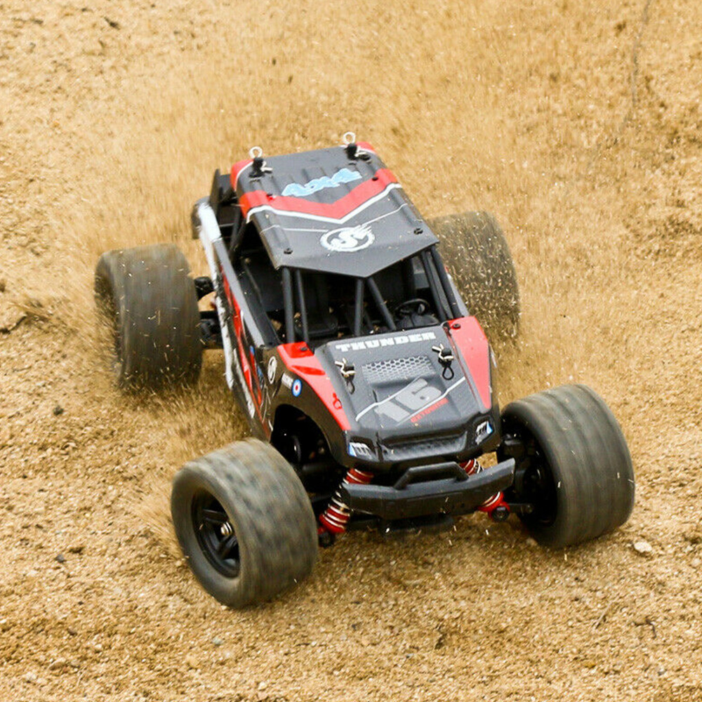 RC Cars 1:18 tout-terrain télécommande haute vitesse escalade voiture quatre roues motrices pleine échelle course véhicule jouets pour enfants - 5