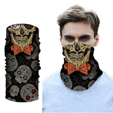Бесшовная Балаклава волшебный шарф накидка на шею и лицо бандана