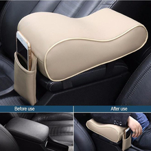 Mat Rest-Pillow Armrests Car-Center-Console Universal Cushion Soft-Sponge