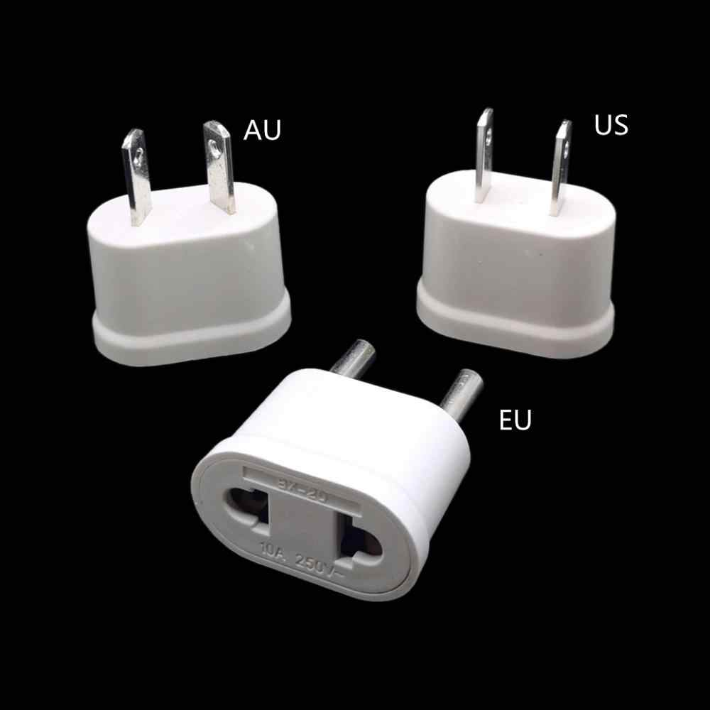 Eu Europea Travel Plug Adapter Amerikaanse Ons Eu Korea Power Adapter Outlet Ac Converter Stopcontact