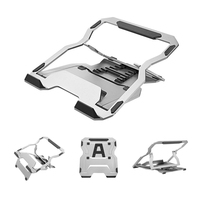 Foldable Laptop Stand Holder, Adjustable Ergonomic Heights Ventilated Desktop Laptop Riser,Notebook Tray Mount for iM'ac/Laptop