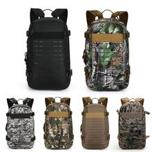 Men's Molle Tactical System Waterproof Outdoor Sports Bag Camouflage Military Backpack Camping Hiking Climbing Travel Bags