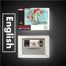 Phantasiaの物語 ユーロバージョンrpgゲームカードバッテリーセーブとリテールボックス