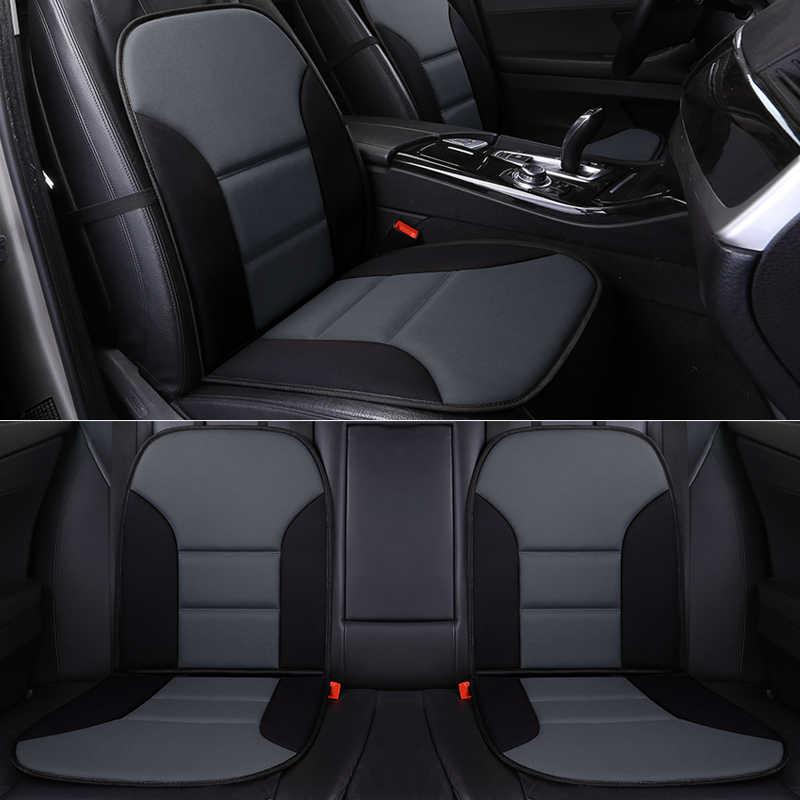 Cakupan Penuh Flax Kursi Mobil Auto Kursi Covers untuk Toyota Camry Plug-In Hybrid Corolla Plug- di Hybrid Levin Plug-In H