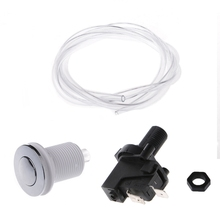 цена на Bath Tub Spa Waste Garbage Disposal Self-Lock Air Switch Push Button Air Hose