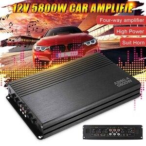 5800W 12V 4 Channel Car Amplif