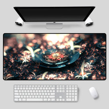 XGZ большой размер коврик для мыши прекрасный цветок серии рисунком рабочий стол ноутбука офис клавиатура