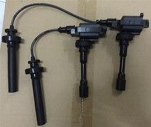 Bobina de ignição do motor/cabo de ignição para lancer em jogo de ignição 3pin para transmissão automática