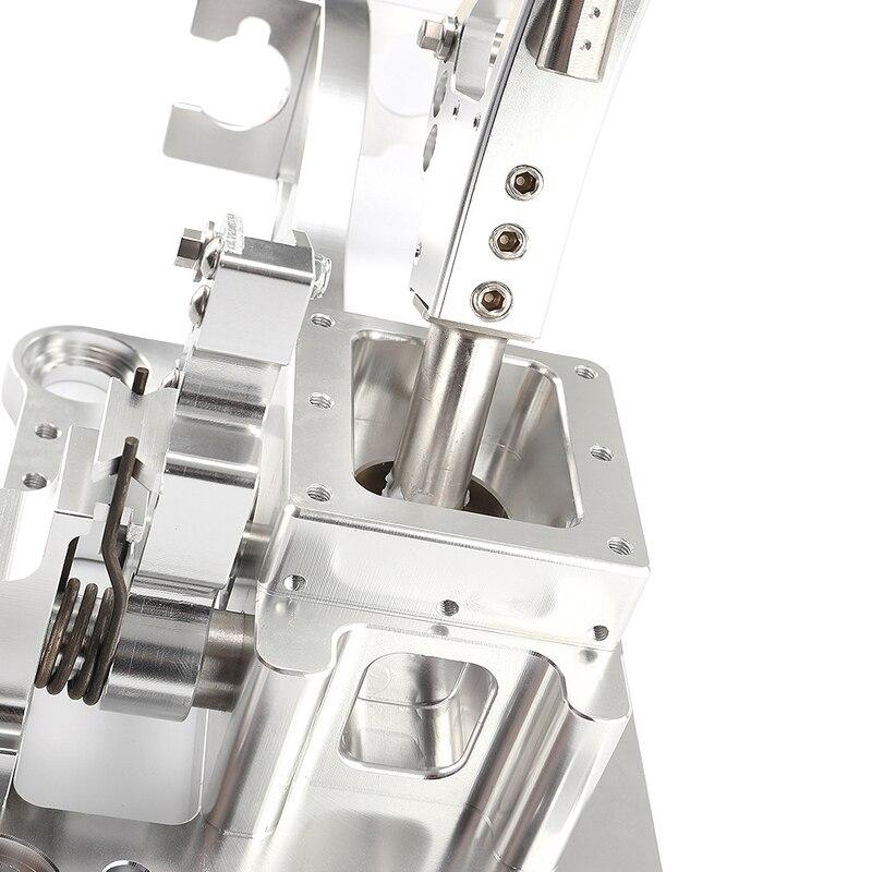 CITALL Auto Argento K Tuned Scatola del Cambio di Marcia Shifter Pomello del cambio Testa Fit per Acura RSX/Serie K motore EG EK - 5