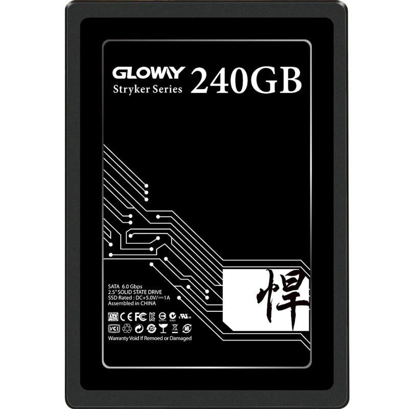 Gloway haute qualité 5 ans de garantie SSD 480GB 1 to SATAIII SSD SATA3 240gb SSD disque SSD HD avec prix usine 720gb 2t
