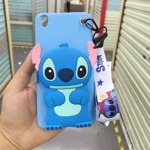 Image 4 - 3D Coreano Bonito Urso Pacote de Emoticon Coelho Totoro Caso de Telefone Carteira Para o iphone X XS MAX XR 6 6s 7 8 além de Capa de Silicone Macio