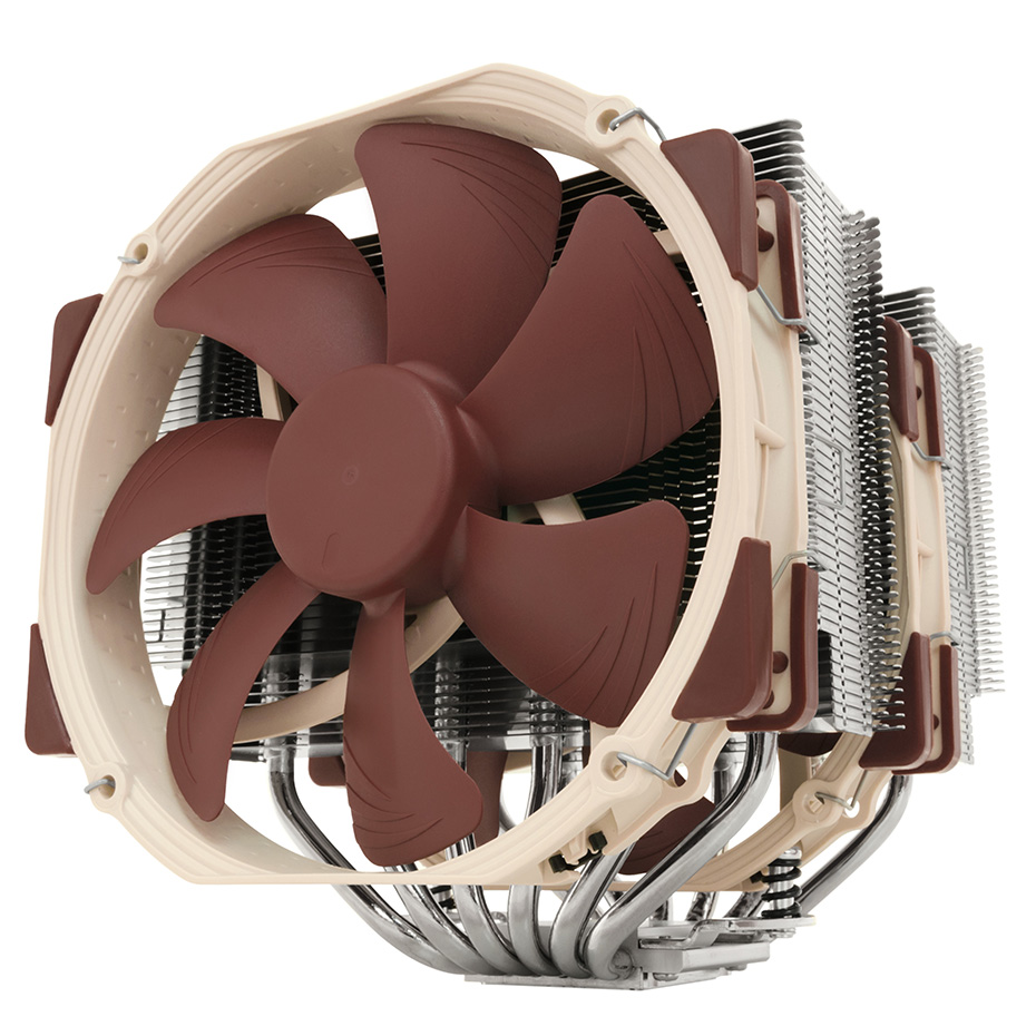 Noctua NH-D15 6 Heatpipe CPU Cooler Twin Towers Double NF-A15 140mm PWM Cooling fan quiet For <font><b>Intel</b></font> <font><b>LGA</b></font> 115x 2011 <font><b>2066</b></font> AM4 AM3 image