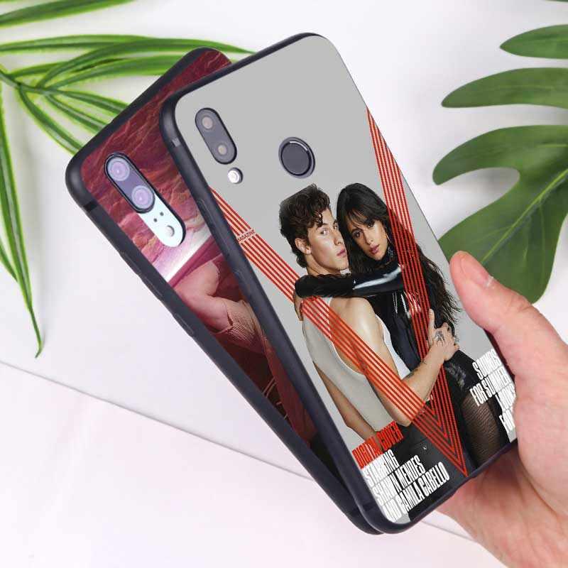 Dla xiaomi redmi note 7 k20 pro 7 uwaga 5 6 4x 7a jasne miękki silikonowy futerał na telefon pop muzyka piosenkarka Shawn mendes