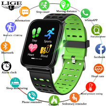 Sports Smart Watch Men IP67 Waterproof Fitness Tracker Heart Rate Blood Pressure Monitor HD full Screen Touch For Android ios 1 3 inch sports smart watch men s ip67 waterproof heart rate blood pressure sleep monitoring step tracker g50 for ios android
