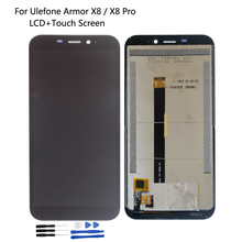 Original For Ulefone Armor X8 LCD Display Touch Screen Digitizer Assembly For Ulefone Armor X8 Pro LCD Phone Accessories Display