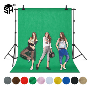 Image 1 - Фон для фотосъемки из нетканого материала с зеленым экраном 1,6x4/3/2 м