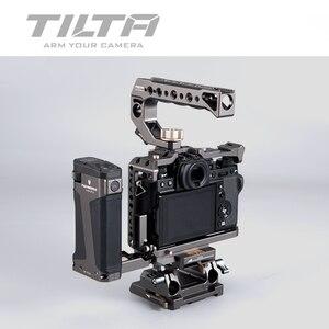 Image 5 - TILTA ramka do kamery DSLR do Fujifilm XT3 X T3 i X T2 uchwyt rękojeści aparatu fujifilm xt3 akcesoria do klatek VS SmallRig