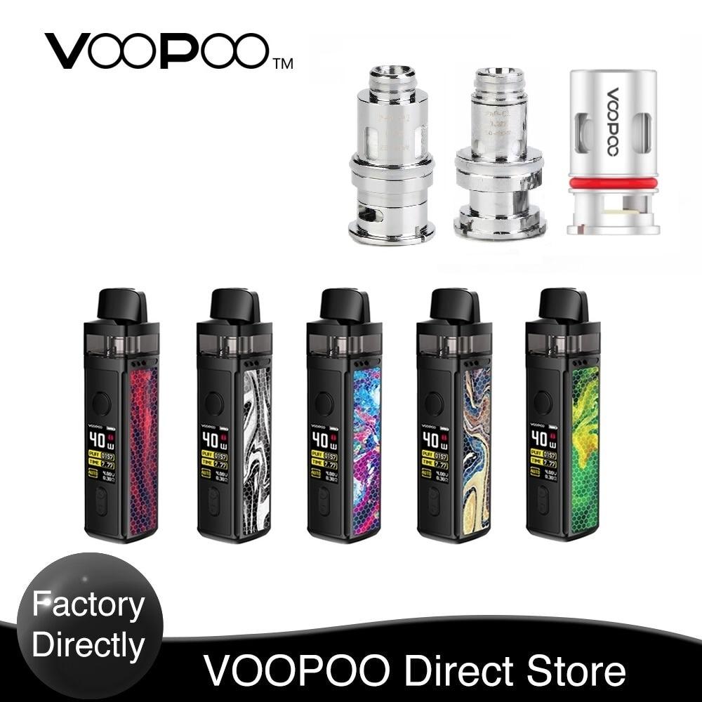 Original VOOPOO VINCI Mod Pod VW Kit  With 1500mAh Built-in Battery &the Brand-new 5.5ml/2ml Visible Pod E-Cig Vape Mod Pod Kit