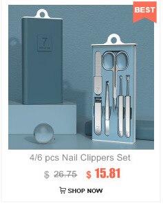 Prego clipper conjunto de aço inoxidável tesoura