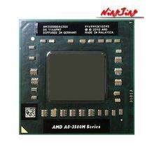Processador amd A8-Series A8-3500M a8, 3500m 1.5 ghz, quatro núcleos, cpu quad-thread, soquete fs1