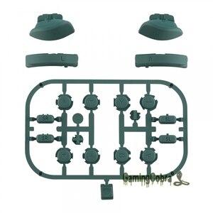 Image 2 - אורן ירוק ABXY כיוון מפתחות SR SL L R ZR ZL הדק מלא סט כפתורי לתקן ערכות עבור NS מתג שמחה קון
