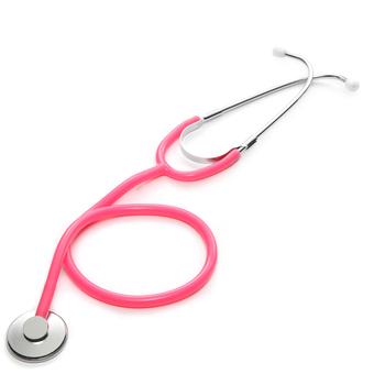 Podstawowy stetoskop medyczny pojedynczy klosz profesjonalny kardiologia stetoskop lekarz Student Vet pielęgniarka sprzęt medyczny urządzenie tanie i dobre opinie XceeFit Portable stethoscope Single Head Stethoscope Professional Stethoscope Medical Equipment Single-Headed Stethoscope