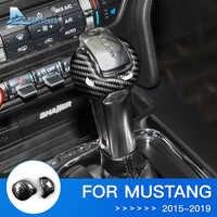 Autocollant en Fiber de carbone pour Ford Mustang accessoires Ford Mustang 2015 2016 2017 2018 2019