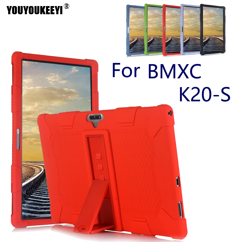 Soft silicone case for BMXC K20-S 11.6inch tablet pc Kids Safe Shockproof Silicone cover for K20-S Comes with stand+stylus