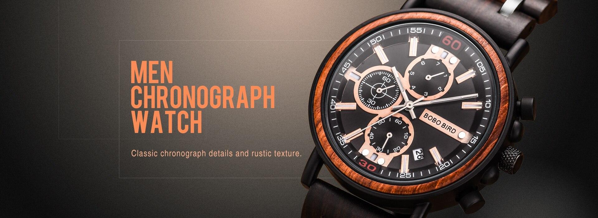 cronógrafo relojes hombre mostrar data relógio de