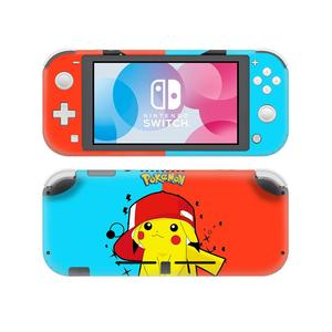 Image 3 - Pokemon Go Pikachu Skin Sticker Decal For Nintendo Switch Lite Console and Controller Protector Joy con Switch Lite Skin Sticker